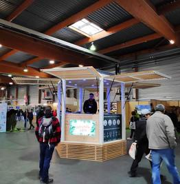 Un Kiosque au coeur du Survival Expo