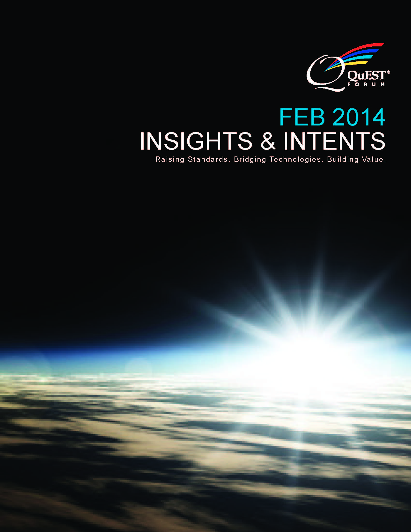 Quest Forum Insights & Intents 2014