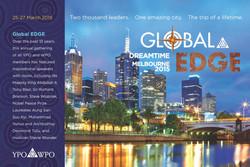 Global EDGE Melbourne postcard