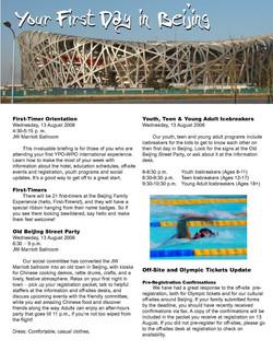 YPO Beijing Olympics Experience