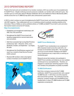 Quest Forum Insights & Intents 2014