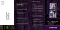 Columbia University brochure