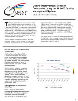Quest Forum PDR Trend Report
