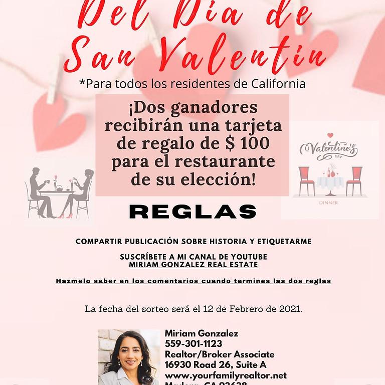 Rifa!  Del Dia de San Valentin!