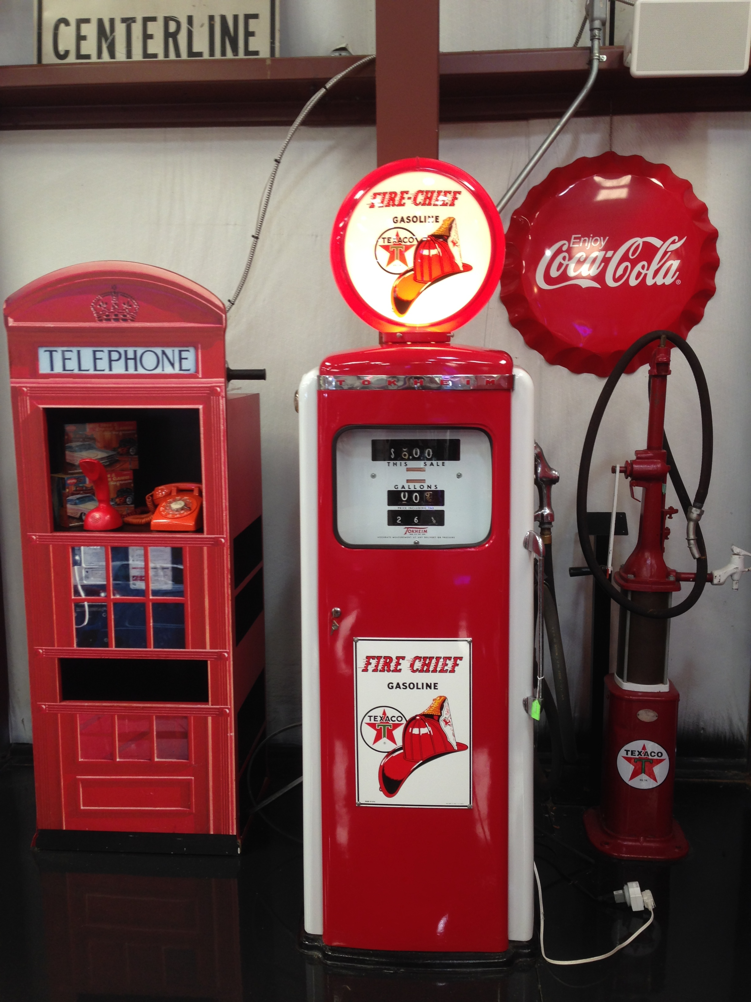 Classic Texaco Gas Pump