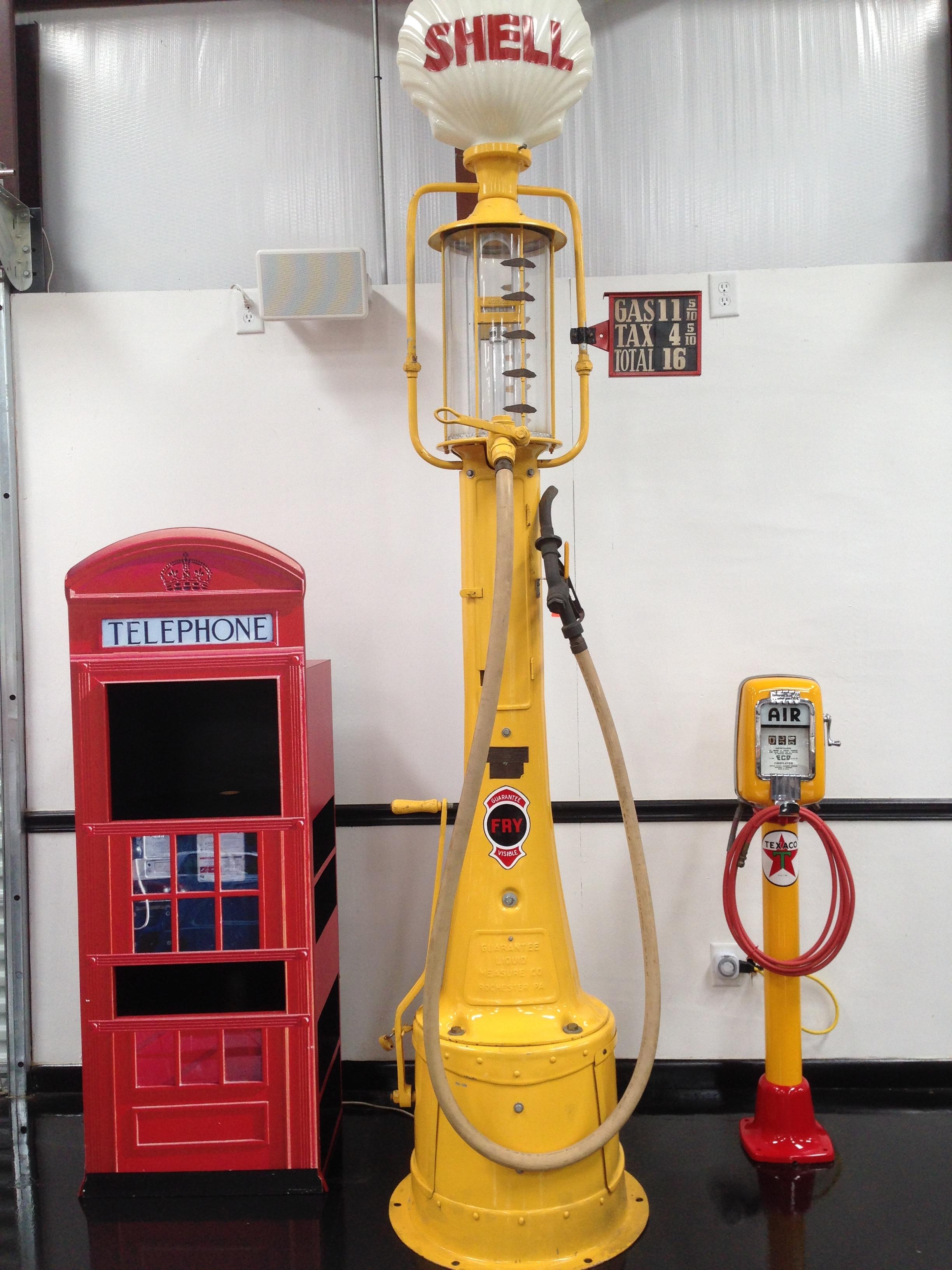 Antique Gas pump and Air Pump