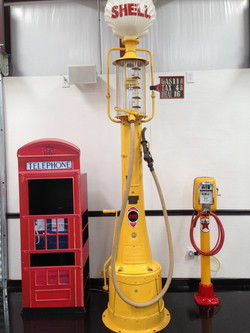 Antique Gas pump and Air Pump
