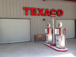 1950's Texaco Gas Station