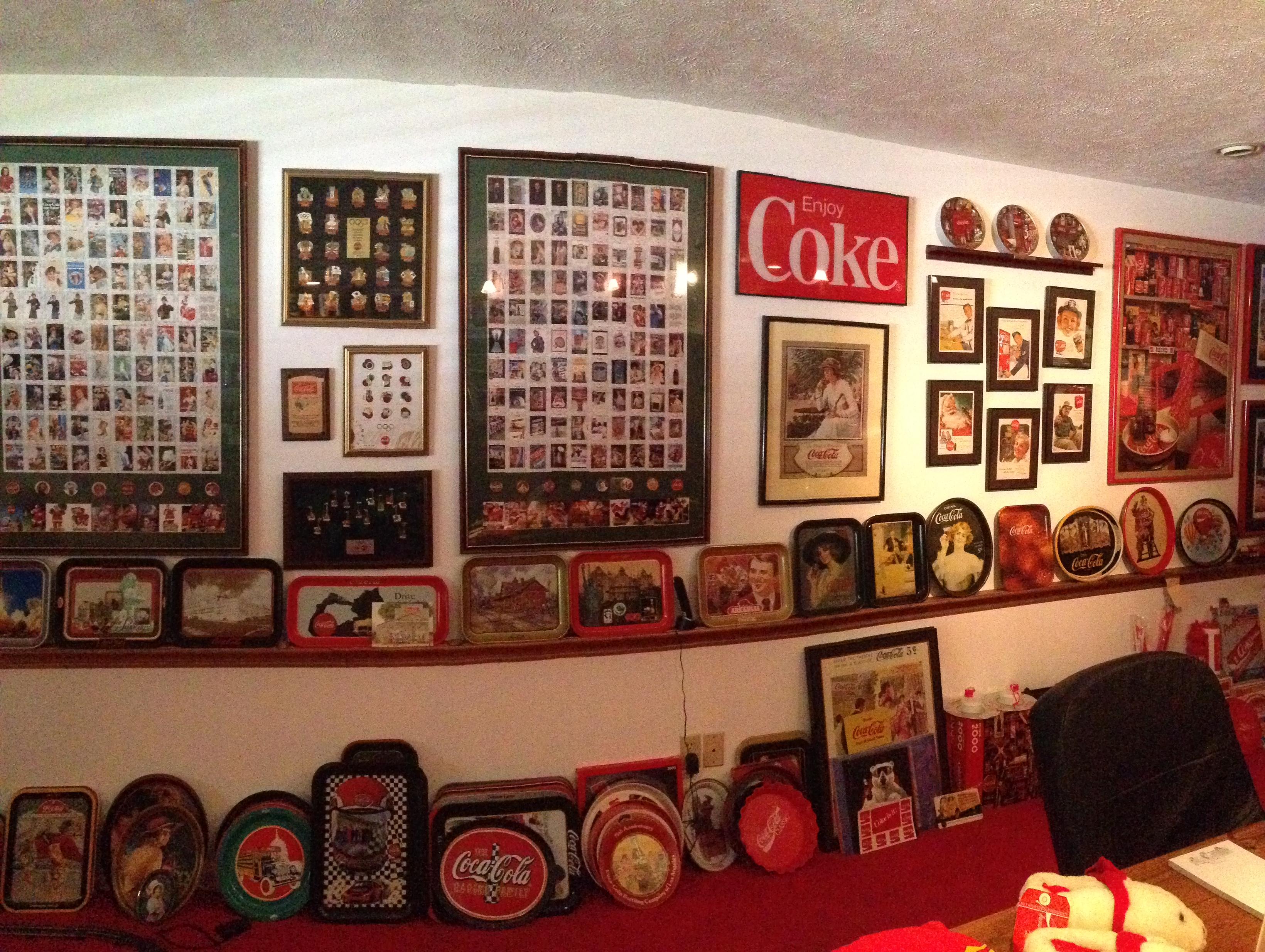 Coca Cola Art Memoribilia