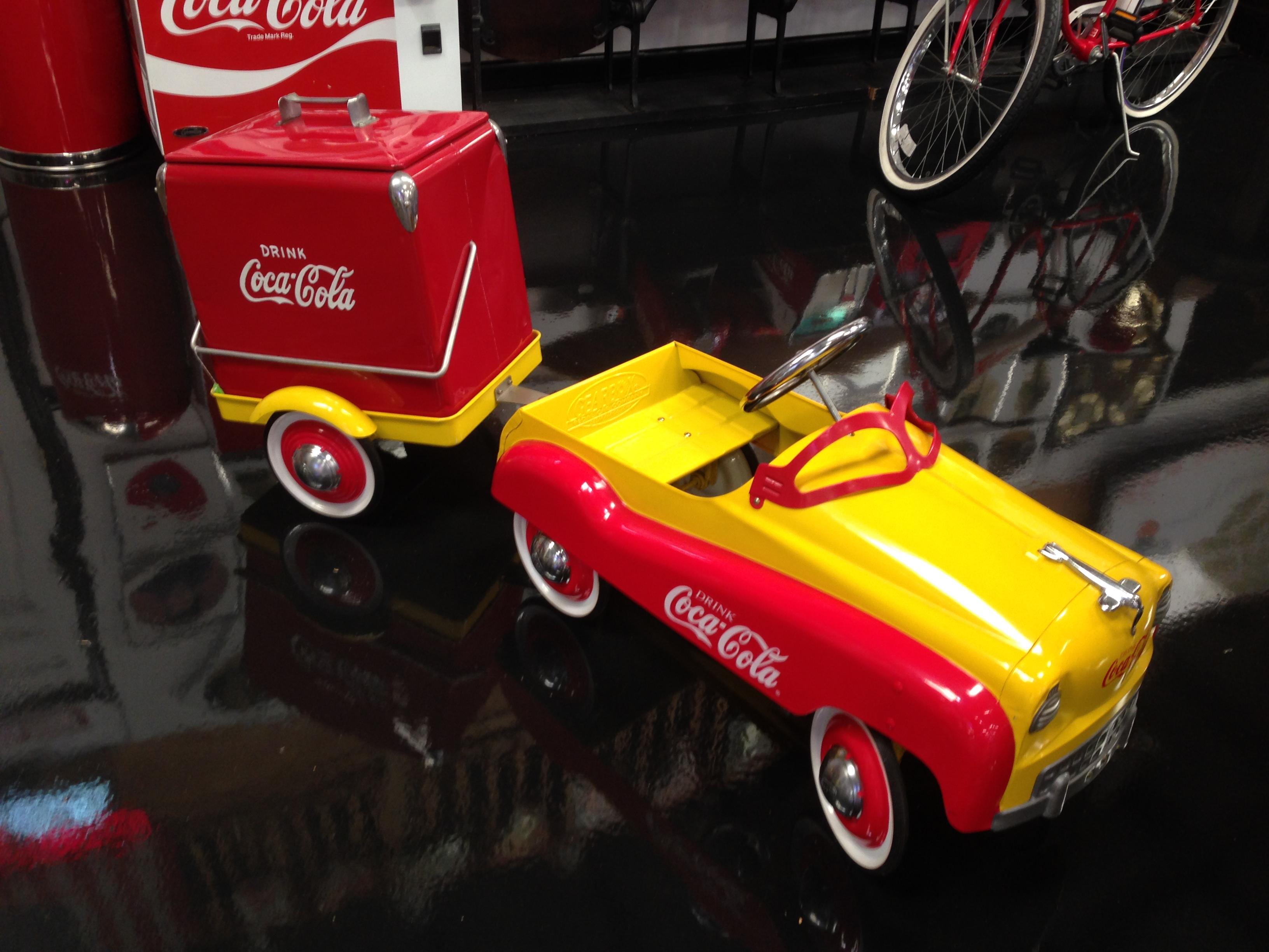 Coca Cola Peddle Car