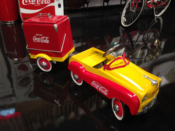Coca Cola Peddle Car