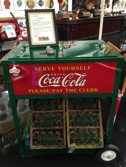 Coca Cola Vending Cart