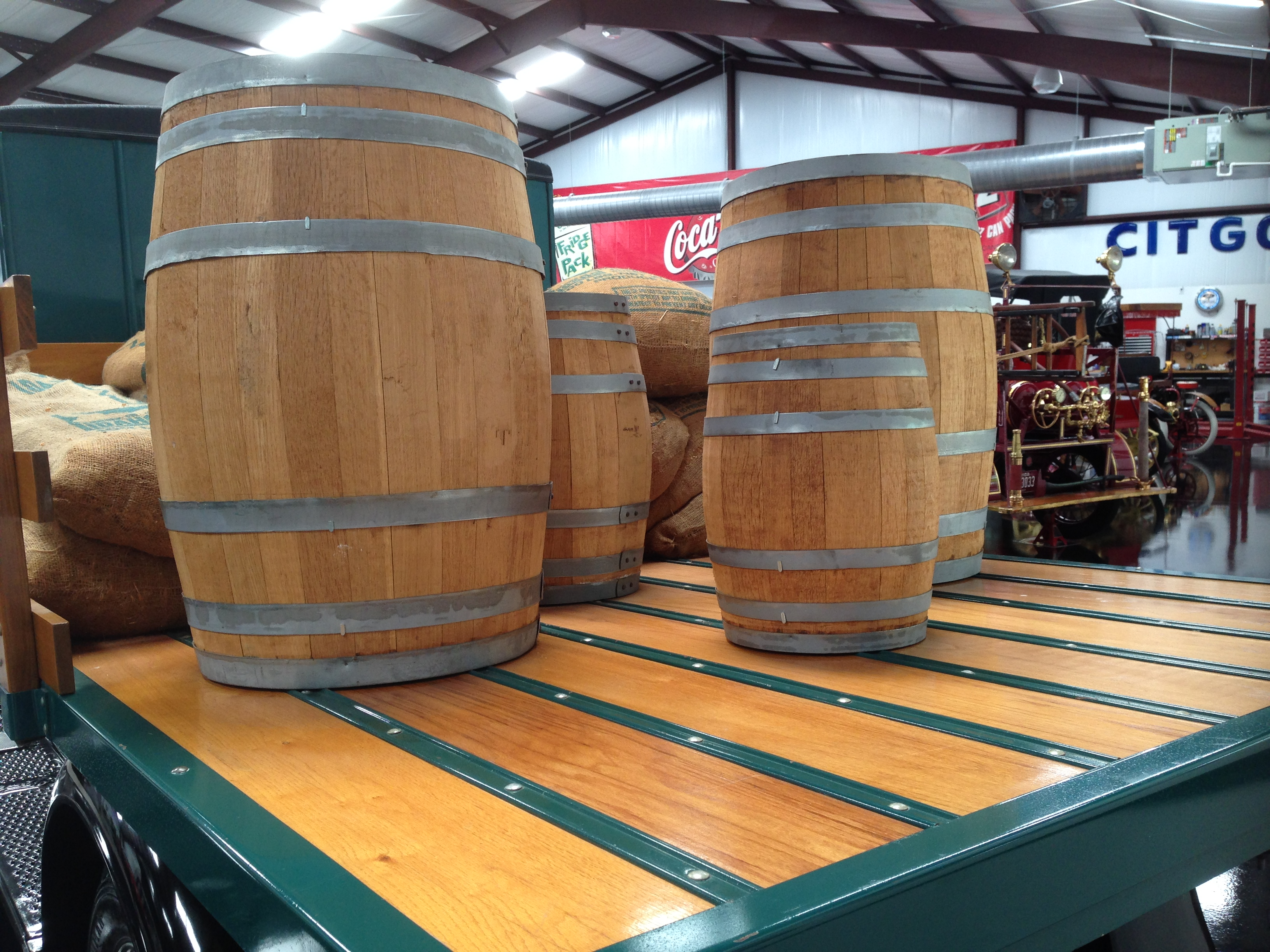 Antique Wiskey Barrels