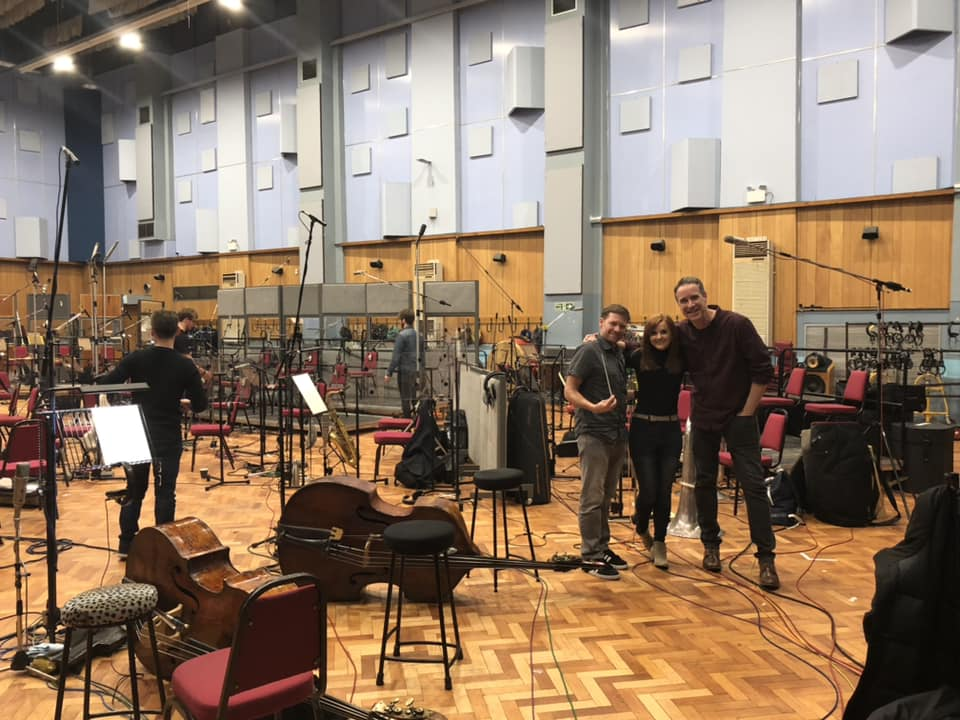 Recording Marooned at Abbey Road