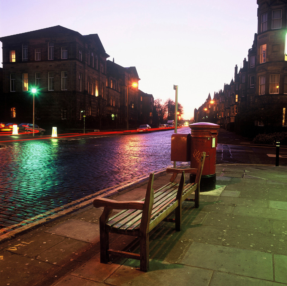 Marchmont at night