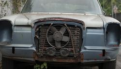 Abandoned Mercedes, Tahiti