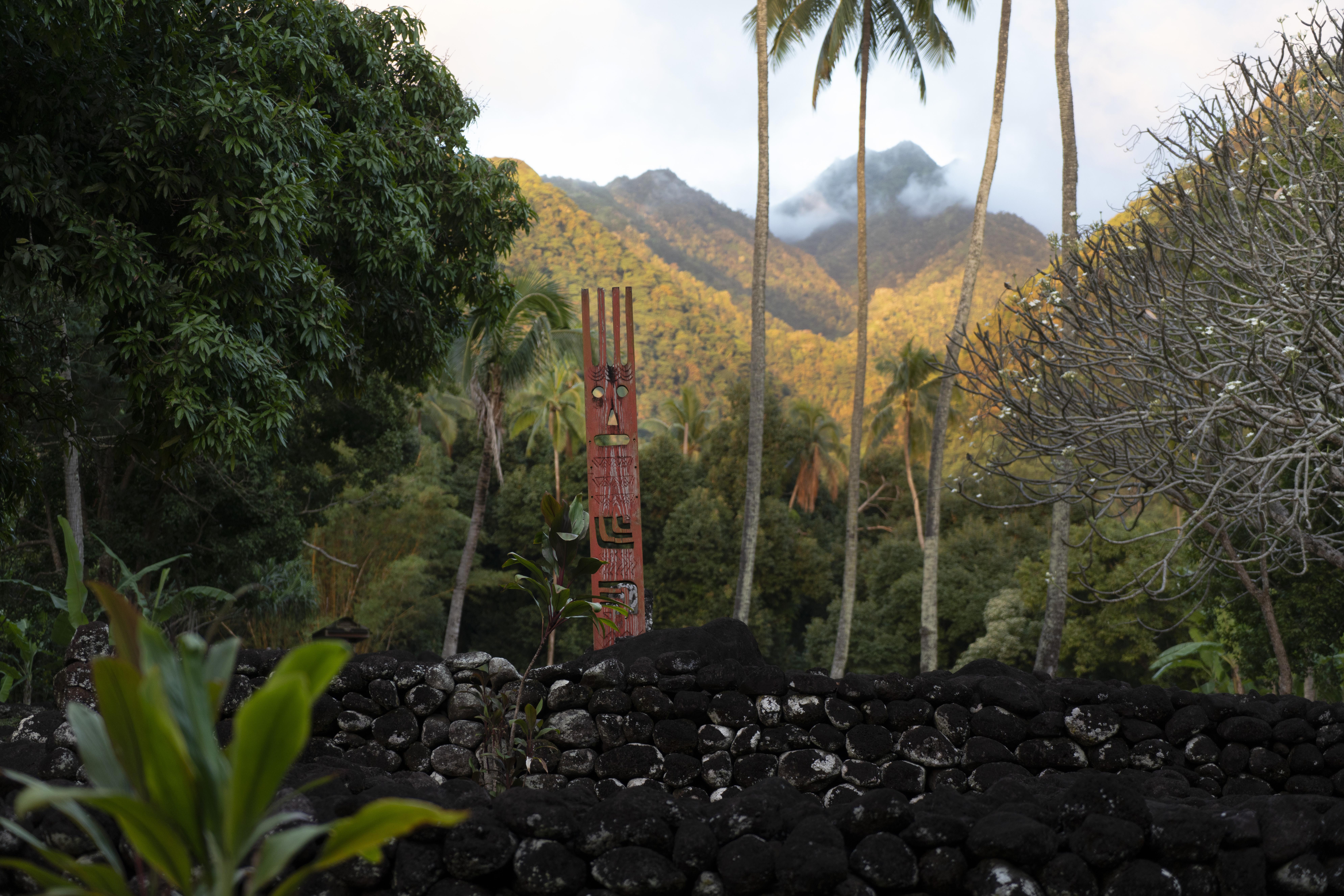 Marae in Tahiti