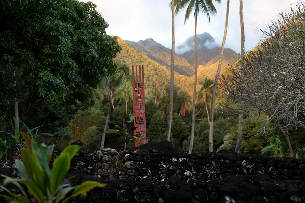 A marae in tahiti