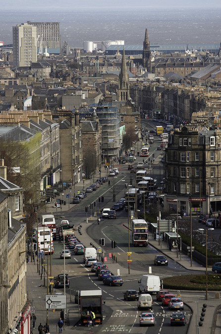 Leith Walk before the trams