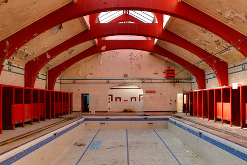 Govanhill Baths before refurbishment