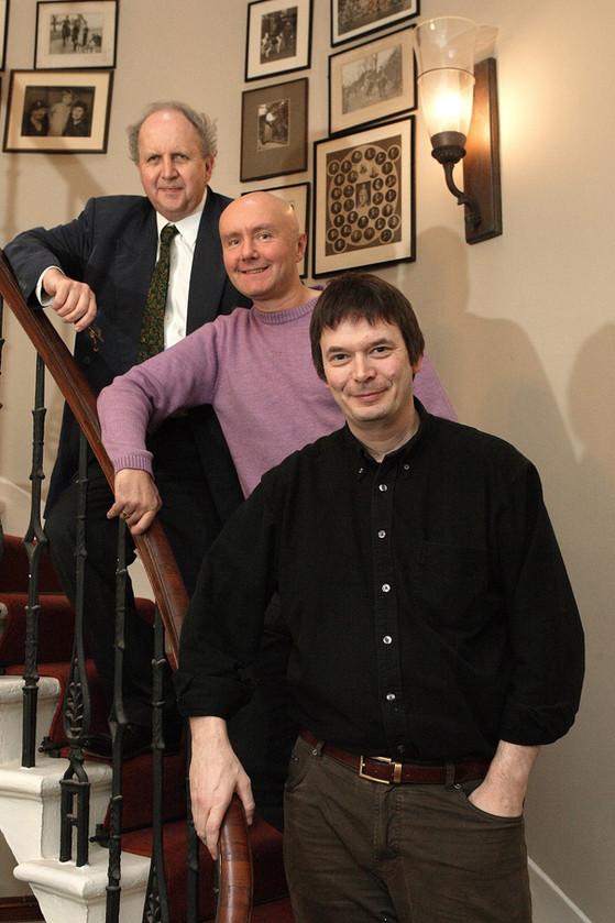 Alexander McCall Smith, Ian Rankin, Irvine Welsh