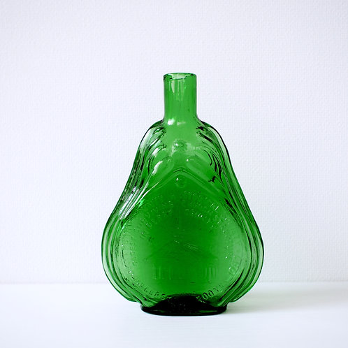 vintage bin -green-