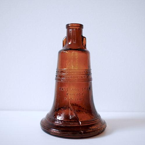 vintage bin -brown-