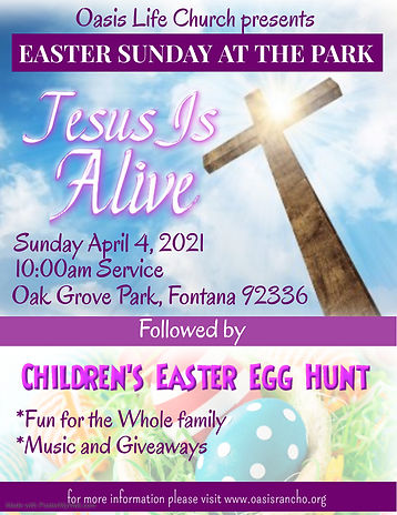 Copy of Easter Sunday Service - Made wit