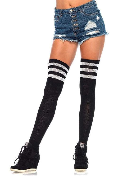 3 Stripe Thigh High Socks (Pre Order)