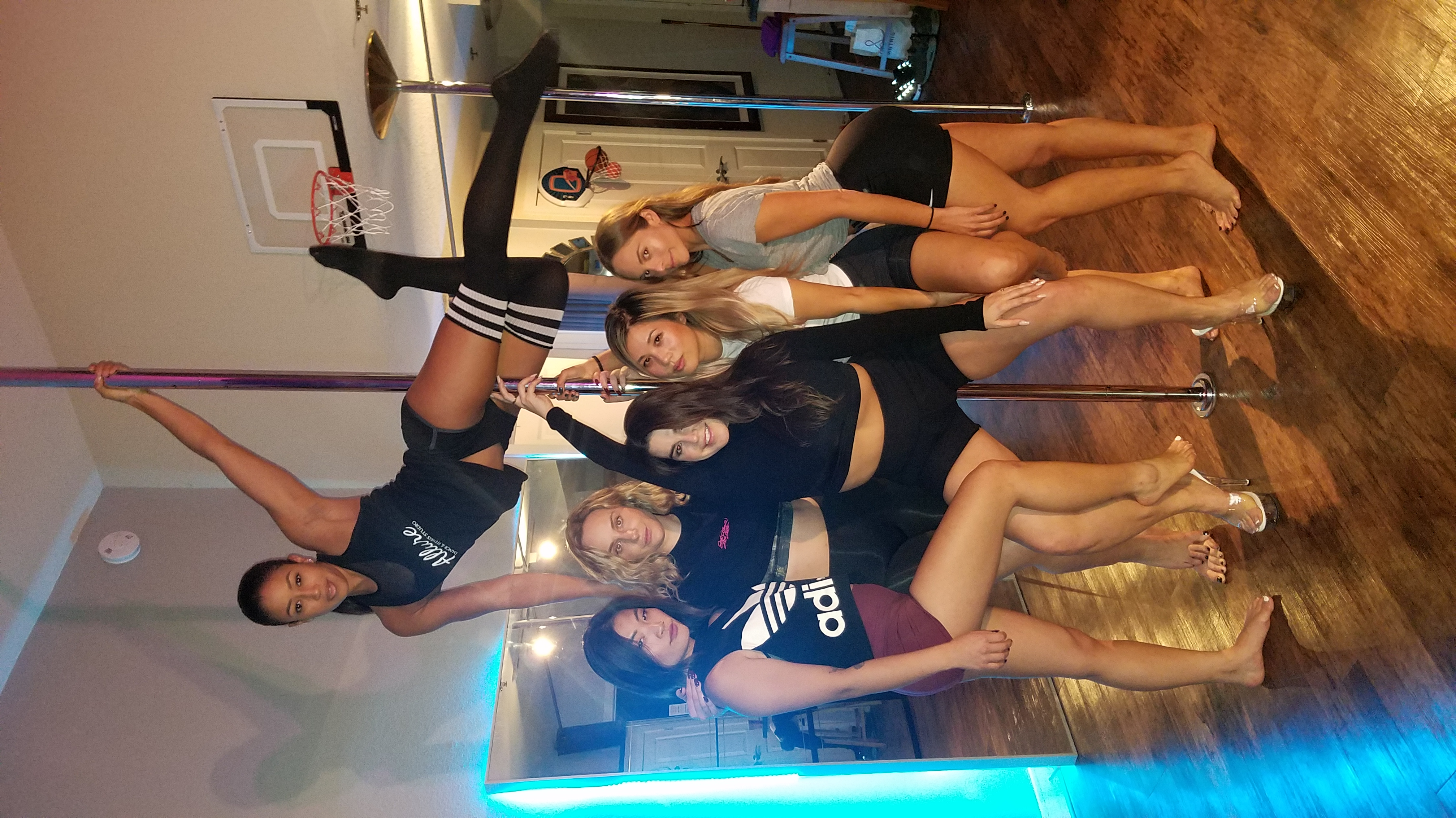 sexy pole party group