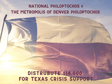 $14,000 Distributed For Texas Crisis Support