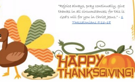 Thanksgiving Message from Metropolis President, Stella Piches