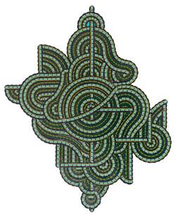 Artériographie simplifiée du légendaire Quetzalcoatl