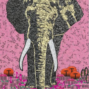 Elephant & Pastel