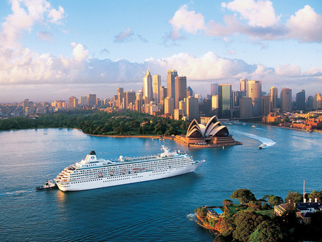Beautiful isn't it? We supply the ships that take travelers to their dream vacations.