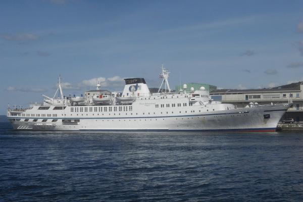 118m 1965 Cruise Ship, 300 Passenger