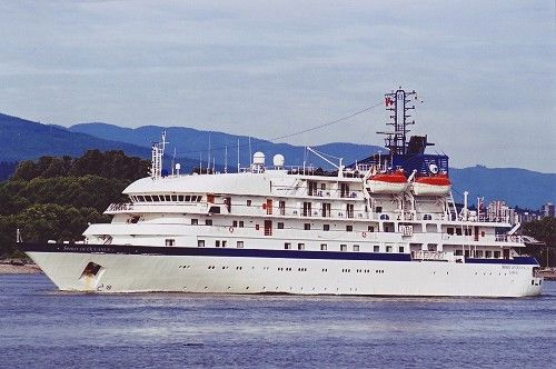 Expedition Cruise Ship, 120 Passenge