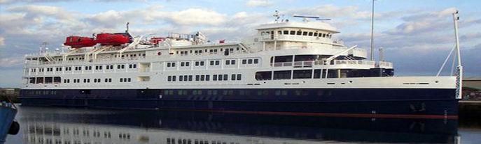 Small Cruise Ship, 294 Passengers