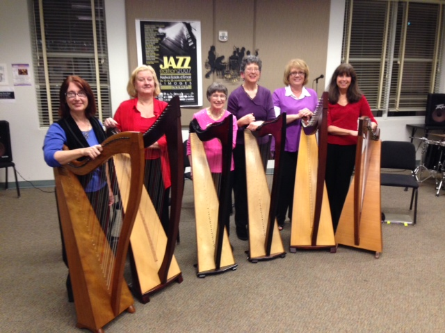 CPCC Folk Harp Ensemble
