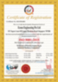 Econo Engineering Pte Ltd (2)ISO 9001 Ce