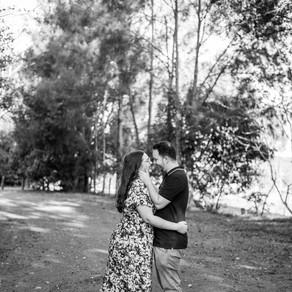 Lauren + Korbin - Gold Coast Engagement Photoshoot