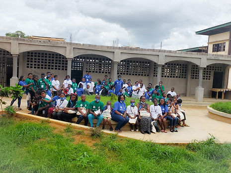 National Youth Camp By WAA Cameroon