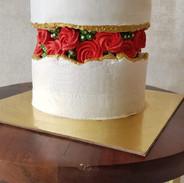 Center Fault Line Cake