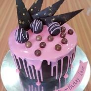 Chocolate Truffle Tall Cake