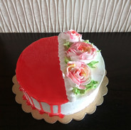 Fruit Cake with Gel