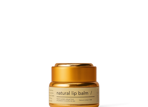 Haeckels Natural Lip Balm