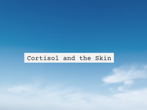 The stress hormone cortisol and the skin