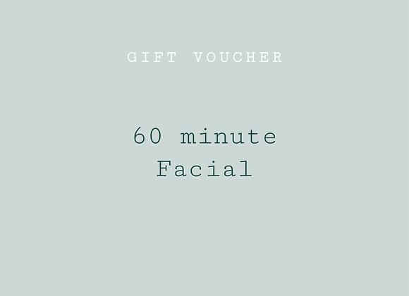 re:lax facial - 60 min