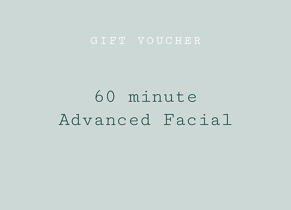 re:lax advanced facial - 60 min