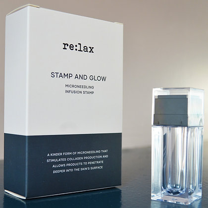 re:lax Stamp and Glow Microneedling Stamp